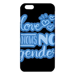 Love Knows No Gender Iphone 6 Plus/6s Plus Tpu Case by Valentinaart