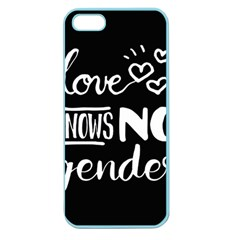 Love Knows No Gender Apple Seamless Iphone 5 Case (color) by Valentinaart