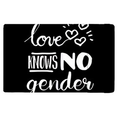 Love Knows No Gender Apple Ipad 2 Flip Case by Valentinaart