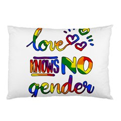 Love Knows No Gender Pillow Case (two Sides)