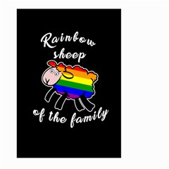Rainbow Sheep Large Garden Flag (two Sides) by Valentinaart