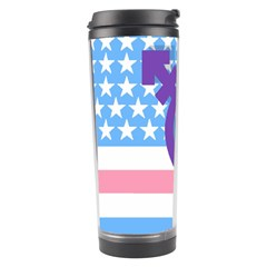Transgender Flag Travel Tumbler