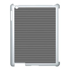 Lines Pattern Apple Ipad 3/4 Case (white)