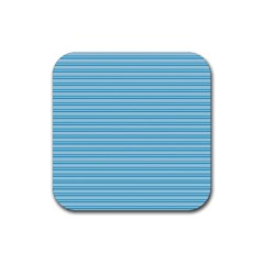 Lines Pattern Rubber Square Coaster (4 Pack)