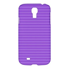 Lines Pattern Samsung Galaxy S4 I9500/i9505 Hardshell Case by Valentinaart