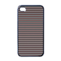 Lines Pattern Apple Iphone 4 Case (black) by Valentinaart