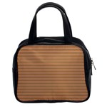 Lines pattern Classic Handbags (2 Sides) Front