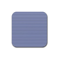 Lines Pattern Rubber Coaster (square)  by Valentinaart