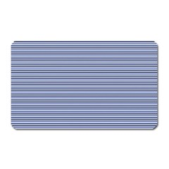 Lines Pattern Magnet (rectangular) by Valentinaart