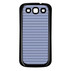 Lines Pattern Samsung Galaxy S3 Back Case (black)