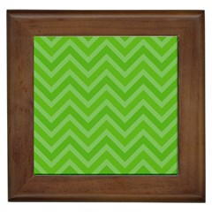 Zigzag  Pattern Framed Tiles by Valentinaart