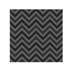 Zigzag  Pattern Small Satin Scarf (square)