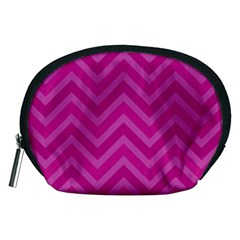 Zigzag  Pattern Accessory Pouches (medium)