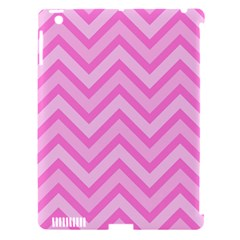 Zigzag  Pattern Apple Ipad 3/4 Hardshell Case (compatible With Smart Cover) by Valentinaart