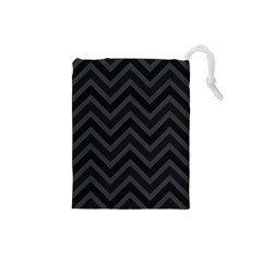 Zigzag  Pattern Drawstring Pouches (small)
