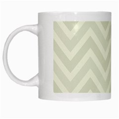 Zigzag  Pattern White Mugs by Valentinaart