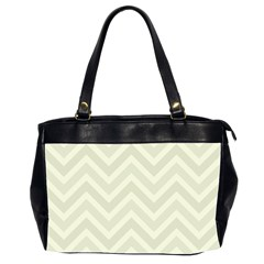 Zigzag  Pattern Office Handbags (2 Sides)