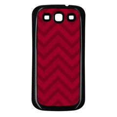 Zigzag  Pattern Samsung Galaxy S3 Back Case (black)