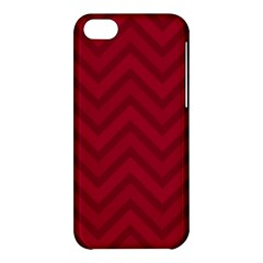 Zigzag  Pattern Apple Iphone 5c Hardshell Case by Valentinaart