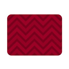 Zigzag  Pattern Double Sided Flano Blanket (mini)