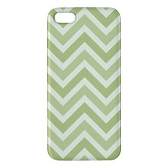 Zigzag  Pattern Apple Iphone 5 Premium Hardshell Case