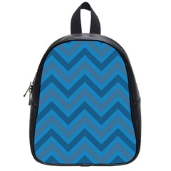 Zigzag  Pattern School Bags (small)  by Valentinaart