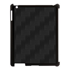 Zigzag  Pattern Apple Ipad 3/4 Case (black)
