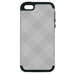 Zigzag  Pattern Apple Iphone 5 Hardshell Case (pc+silicone) by Valentinaart
