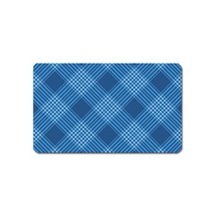 Zigzag  Pattern Magnet (name Card) by Valentinaart