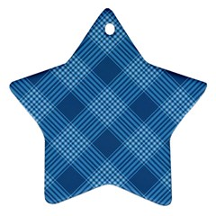 Zigzag  Pattern Star Ornament (two Sides) by Valentinaart