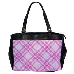 Zigzag Pattern Office Handbags by Valentinaart