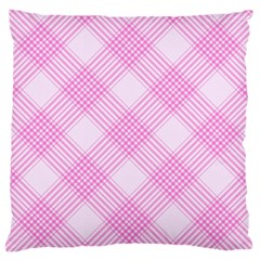 Zigzag Pattern Standard Flano Cushion Case (one Side)