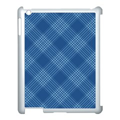 Zigzag Pattern Apple Ipad 3/4 Case (white)