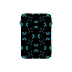 Background Black Blue Polkadot Apple Ipad Mini Protective Soft Cases by Mariart
