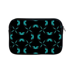 Background Black Blue Polkadot Apple Ipad Mini Zipper Cases by Mariart