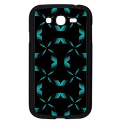 Background Black Blue Polkadot Samsung Galaxy Grand Duos I9082 Case (black) by Mariart
