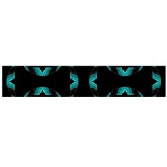 Background Black Blue Polkadot Flano Scarf (large) by Mariart