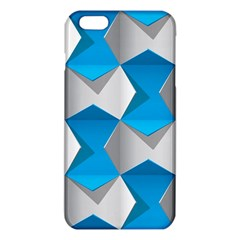 Blue White Grey Chevron Iphone 6 Plus/6s Plus Tpu Case by Mariart