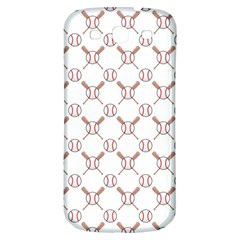 Baseball Bat Scrapbook Sport Samsung Galaxy S3 S Iii Classic Hardshell Back Case by Mariart