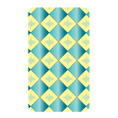 Yellow Blue Diamond Chevron Wave Memory Card Reader by Mariart