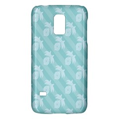 Christmas Day Ribbon Blue Galaxy S5 Mini by Mariart