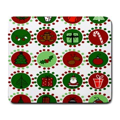 Christmas Large Mousepads by Mariart