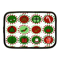 Christmas Netbook Case (medium)  by Mariart