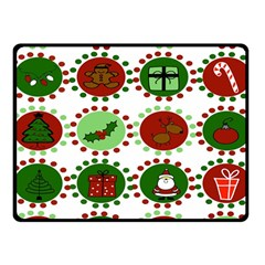 Christmas Fleece Blanket (small) by Mariart
