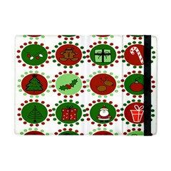 Christmas Apple Ipad Mini Flip Case by Mariart