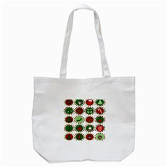Christmas Tote Bag (white) by Mariart