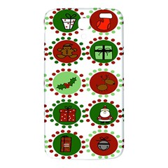 Christmas Samsung Galaxy Mega I9200 Hardshell Back Case by Mariart