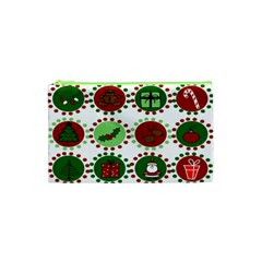 Christmas Cosmetic Bag (xs) by Mariart