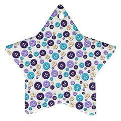 Buttons Chlotes Ornament (star) by Mariart