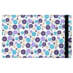 Buttons Chlotes Apple Ipad 2 Flip Case by Mariart